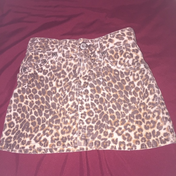 The Children's Place Other - 😍PLACE - 🐾Leopard Print🐾 Corduroy Skort😍